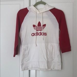 Vintage Adidas hoodie in perfect condition XS/S